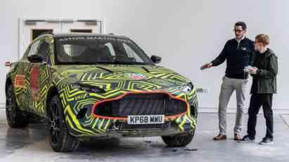 15.11.2018 ::: Aston Martin je počeo testiranje svog prvog SUV modela (FOTO+VIDEO)
