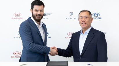17.05.2019 ::: Kia i Hyundai će sa Rimcem razvijati električna vozila visokih performansi