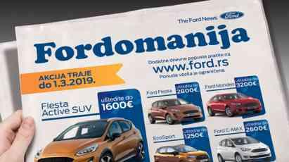 19.02.2019 ::: Fordovi automobili do 1. marta  po posebnim cenama