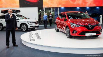 22.03.2019 ::: Novi Renault Clio (2020) predstavljen na sajmu automobila u Beogradu