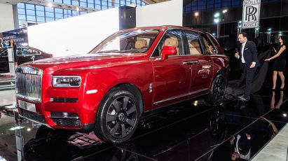 22.03.2019 ::: Rolls-Royce Cullinan debitovao u Srbiji