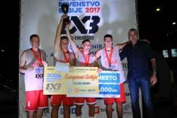 3x3: Olimp je šampion Srbije