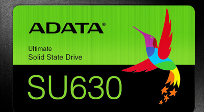 ADATA lansirao Ultimate SU630 3D QLC NAND SSD