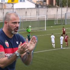 AKROBACIJA NA GOLU: Sin Dejana Stankovića odbranio penal za Inter! Kao jaguar (VIDEO)