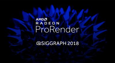 AMD na SIGGRAPH 2018