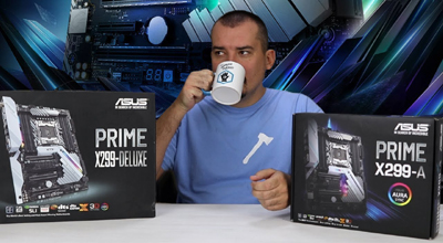ASUS PRIME X299-A i X299-Deluxe