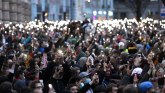 Aleksej Navaljni i Rusija: Hiljade ljudi širom zemlje na zabranjenim protestima