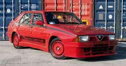 Alfa Romeo 75 Turbo Evoluzione na aukciji