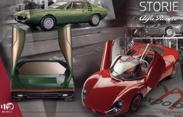 """""""Alfa Romeo priče"""", sedma epizoda – Revolucija oblika i boja: modeli 33 Stradale, Carabo i Montreal"""