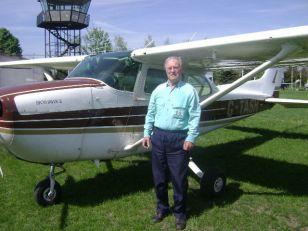 Andrija Šil - instruktor letenja i u osmoj deceniji života