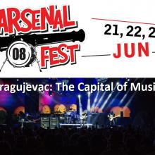 Arsenal fest 08: Kragujevac - The Capital of Music