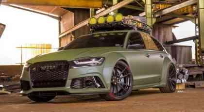 Audi RS6 Avant koji izgleda spremno za apokalipsu