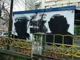 BG: Stariji bračni par povređen tokom uništavanja murala