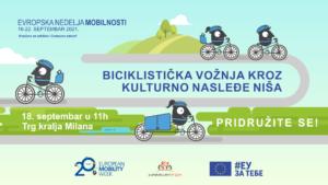 Biciklistička vožnja kroz kulturno nasleđe Niša