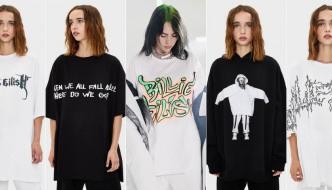 Billie Eilish x Bershka: Razigrana kolekcija kontroverzne pjevačice
