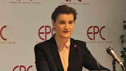 Brnabić: Kada bi EU danas ponudila članstvo Srbiji, rekla bih ne