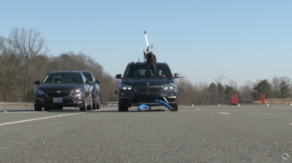 Bruka: BMW X1 dobio nulu na testu bezbednosti (VIDEO)
