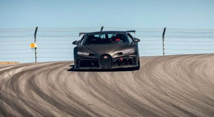 Bugatti Chiron Pur Sport uhvaćen na stazi