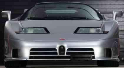 Bugatti EB110 Super Sport ide na aukciju