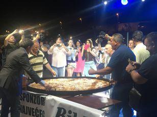 Burek od 200 kilograma, kao rekord na Buregdžijadi