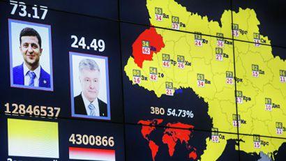 CIK Ukrajine: Zelenski 73,2 odsto, Porošenko 24,45 odsto glasova