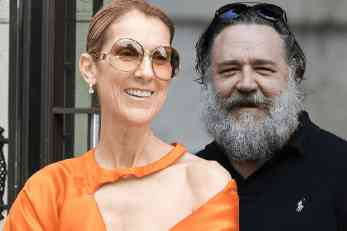 Celine Dion ima novog partnera, glumca Russella Crowa