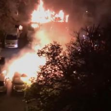 Četiri automobila izgorela, još četiri oštećena! Dva požara u glavnom gradu, bar jedan podmetnut? (VIDEO)