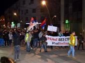 Četvrti protest u Vranju