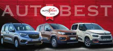 Citroen Berlingo, Opel Combo Life i Peugeot Rifter osvojili titulu Autobest 2019