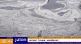 Čudna pojava na jezeru Ćelije: O čemu se radi i da li je opasno? VIDEO