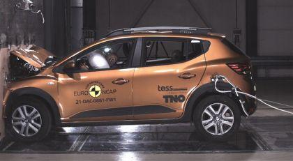 Dacia Logan, Dacia Sandero Stepway, Volkswagen ID.4 i Škoda Enyaq iV na EuroNCAP testu