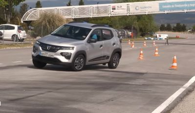 Dacia Spring Electric na testu severnog jelena