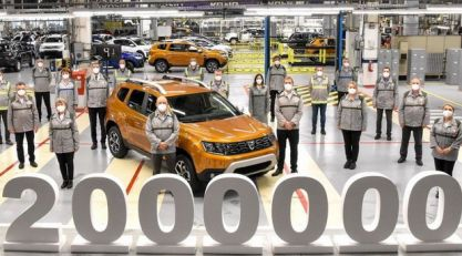 Dacia proizvela 2.000.000-ti Duster u Mioveni fabrici u Rumuniji