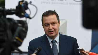 Dačić: Britanija uložila protest Surinamu zbog Kosova
