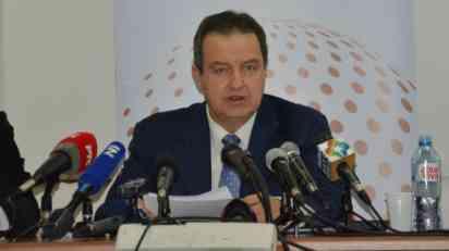 Dačić: Zvanična ponuda Beograda Prištini je razgraničenje