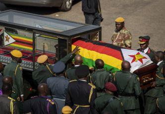 Dačić na ceremoniji državne sahrane Roberta Mugabea