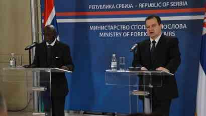 Dačić predložio Gambiji da preispita odluku o Kosovu