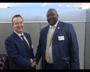 Dačić sa šefom diplomatije Ugande o unapređenju saradnje