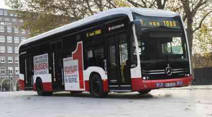 Daimler isporučio prvi električni Mercedes-Benz autobus