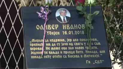 Deset meseci od ubistva Olivera Ivanović, bez pomaka u istrazi