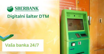 Digitalni šalter u Samouslužnim zonama Sberbank Banja Luka