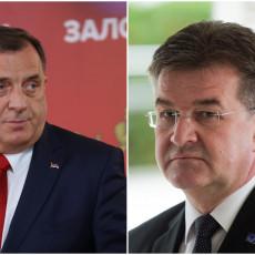 Dijalog način za rešavanje problema u BiH: Dodik se sastao sa Lajčakom u Antaliji