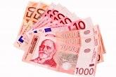 Dinar miruje: Za jedan evro 117,9 RSD