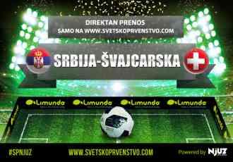 Direktan prenos utakmice Srbija-Švajcarska