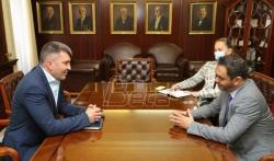 Djordjević i ambasador Aldaheri: Proširiti saradnju Pošte Srbije i Pošte Emirata
