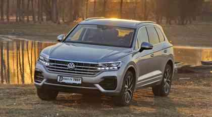 Dmotion test: Volkswagen Touareg