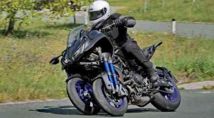 Dmotion test: Yamaha Niken