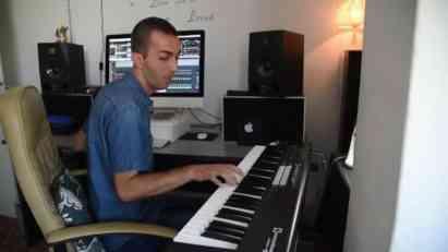 Dnevni boravak postao muzički studio