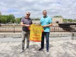 Dres rukometaša Železničarasa potpisima svih prvotimaca prodat na licitaciji LFN-a