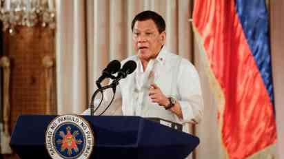 Duterte: Milione sam nasledio, nemam sumnjivu imovinu